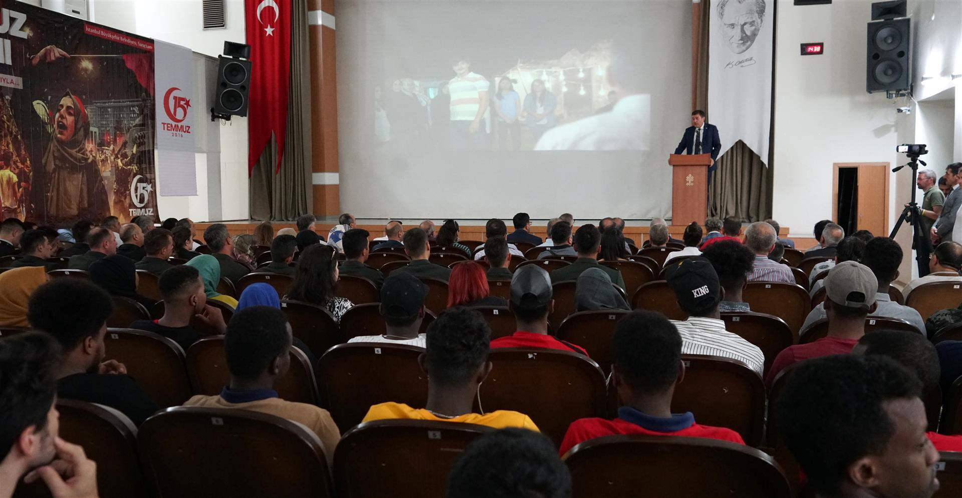 Demokrasi ve Birlik Günü Konferansı Gerçekleştirildi Resim