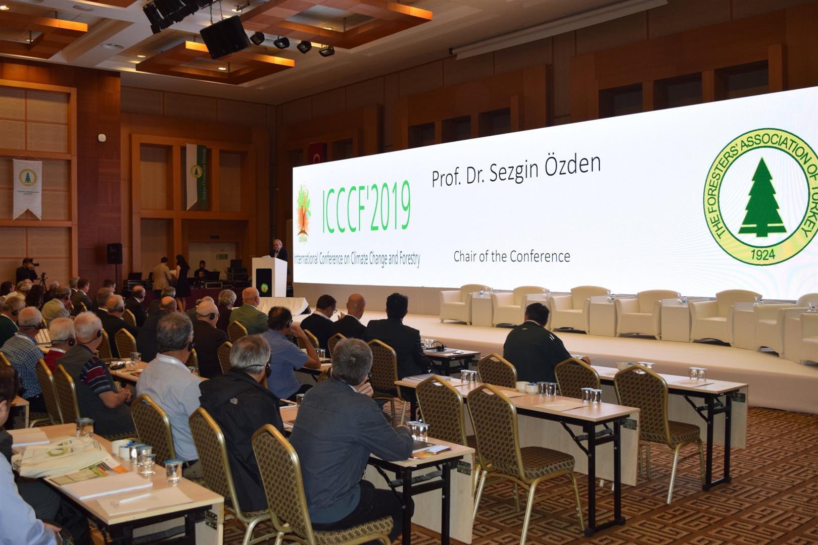 Uluslararası İklim Değişikliği ve Ormancılık Konferansı Yapıldı Resim