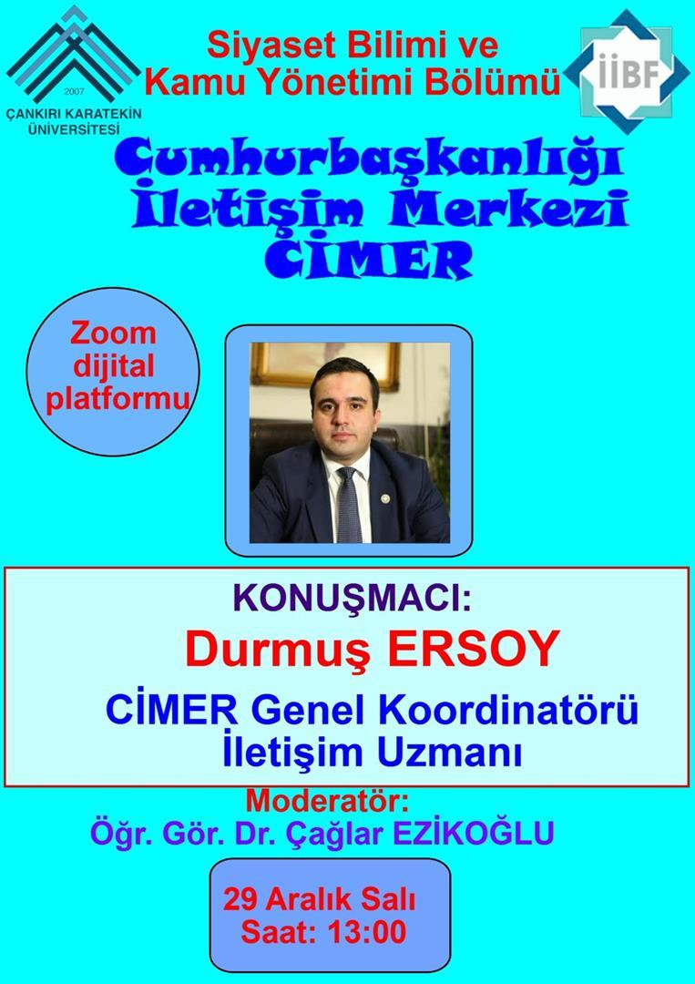 Cumhurbaşkanlığı İletişim Merkezi CİMER