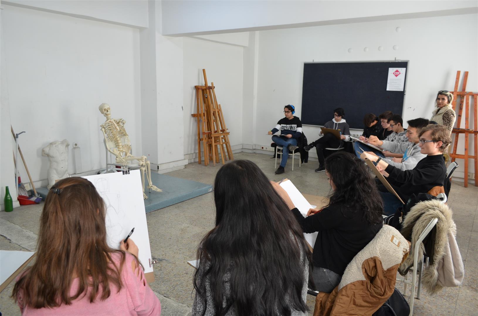 Resim Bölümü Geleceğin Sanatçılarını Ağırladı Resim
