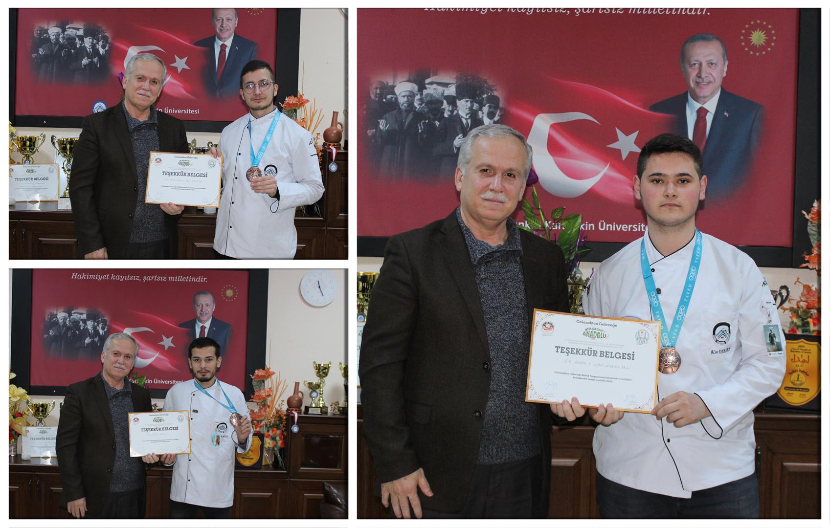 Turizm ve Otel İşletmeciliği Programından Türkiye Üçüncülüğü Resim