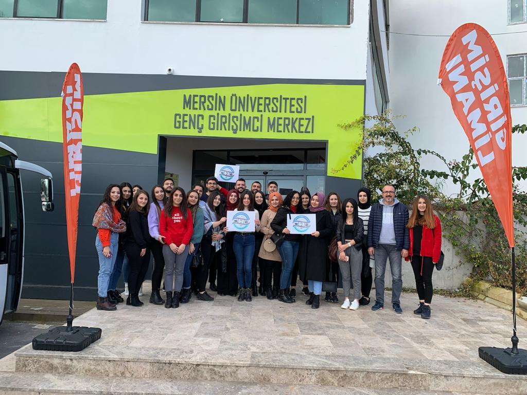 Medya ve Girişimcilik Topluluğu Mersin ve Adana`da Resim