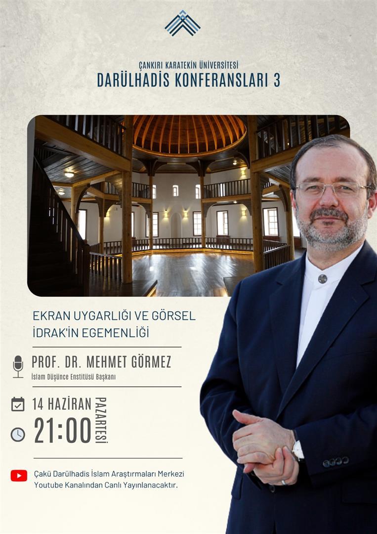 Darülhadis Konferansları 3