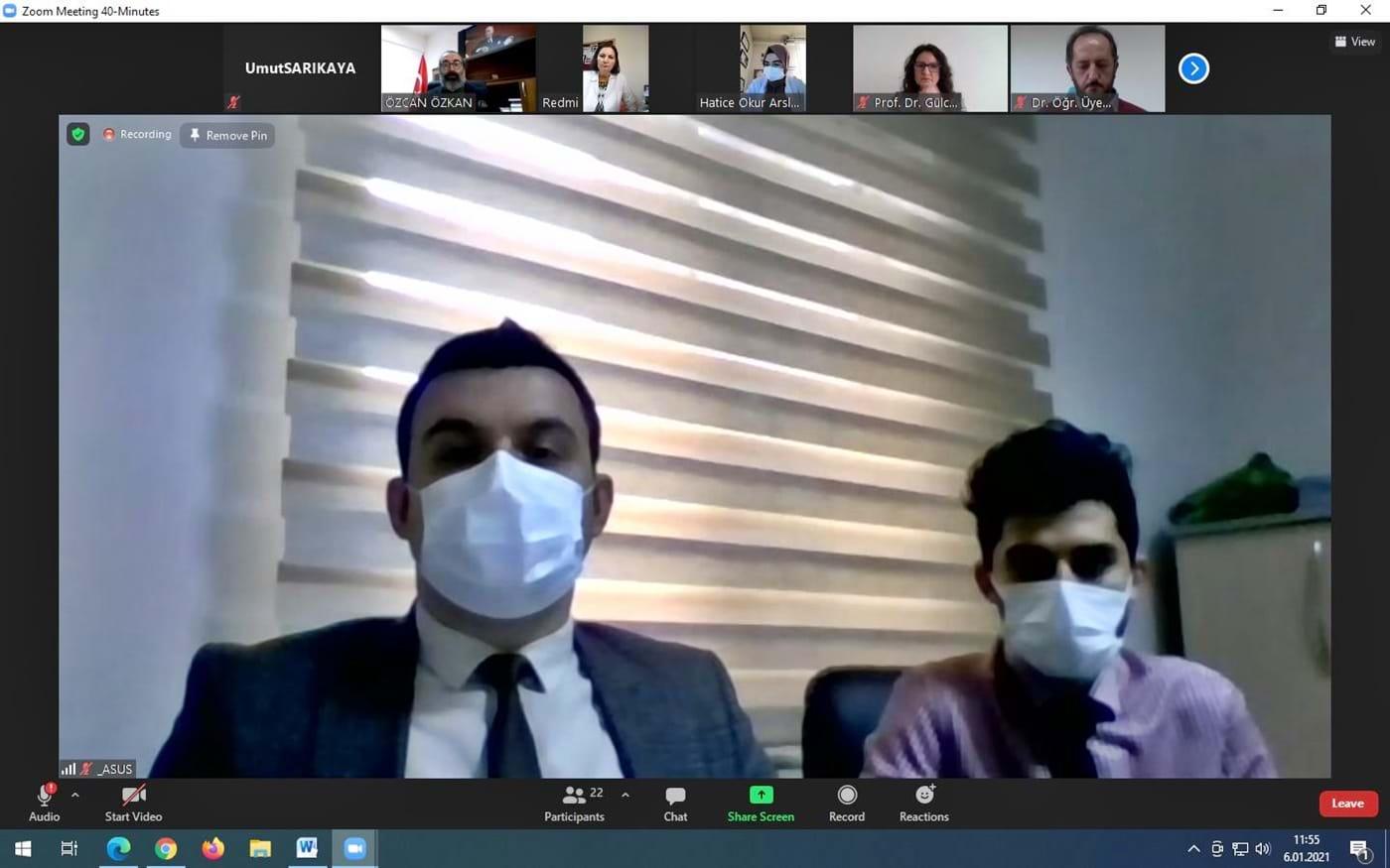 Kalite Güvencesi ve Kalite Gelişimi Sürekliliği İçin Sağlık Bilimleri Fakültesi Dış Paydaş Toplantısı Yapıldı