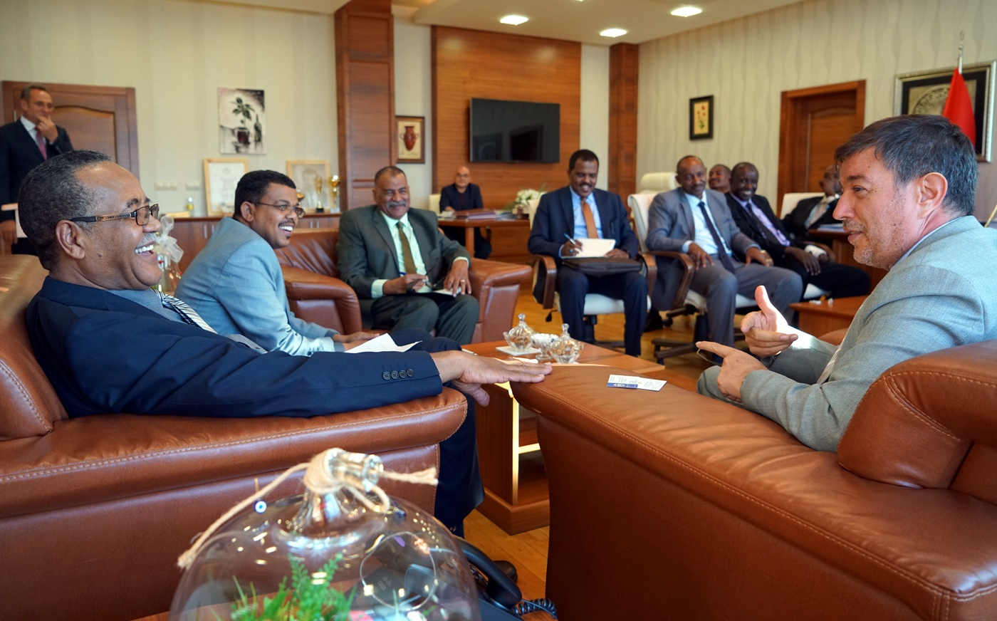 ÇAKÜ, Sudan Üniversiteleri ile İşbirliklerine Hız Kesmeden Devam Ediyor Resim