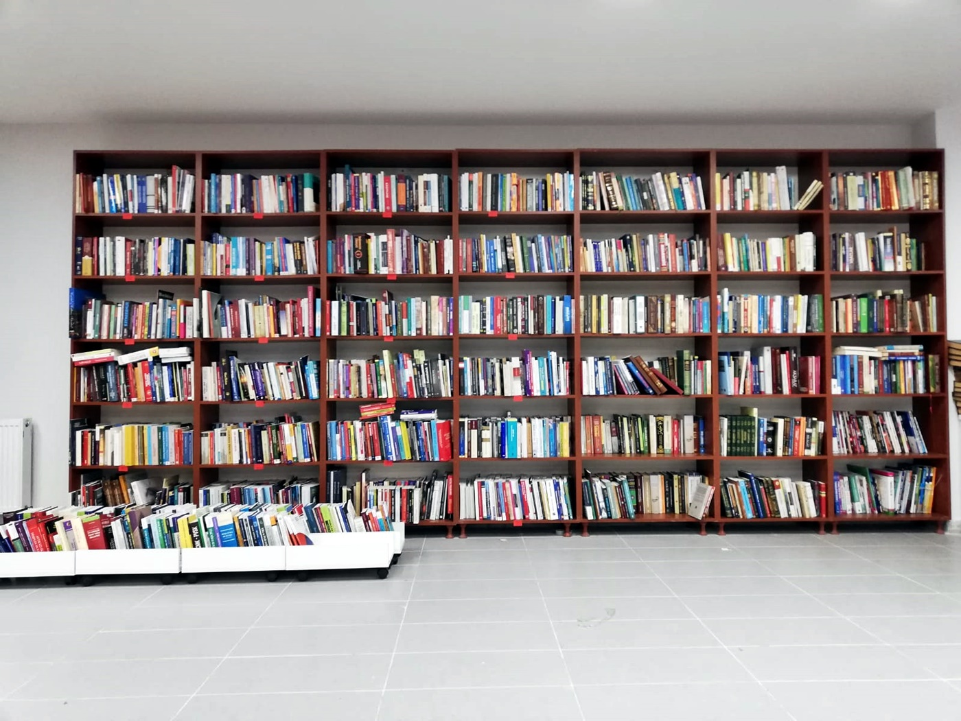 Çankırı Karatekin Üniversitesi Kütüphanesine Büyük Kitap Bağışı