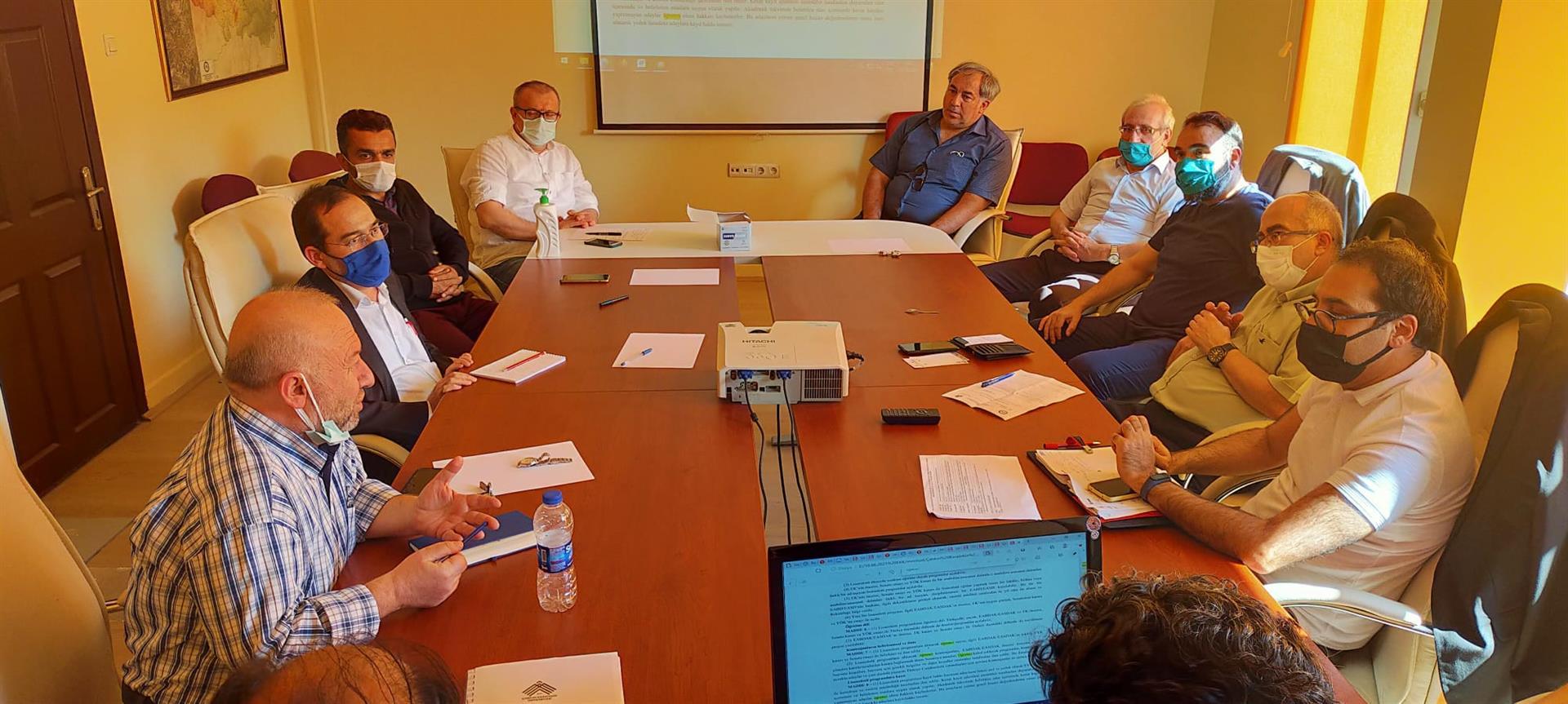 Sosyal Bilimler Enstitüsü Kurul Toplantısı Gerçekleştirildi
