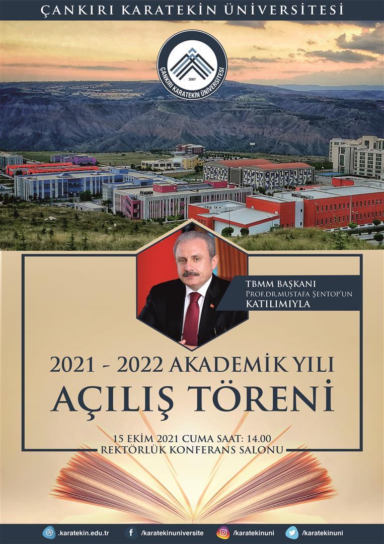 2021-2022 Akademik Yılı Açılış Töreni