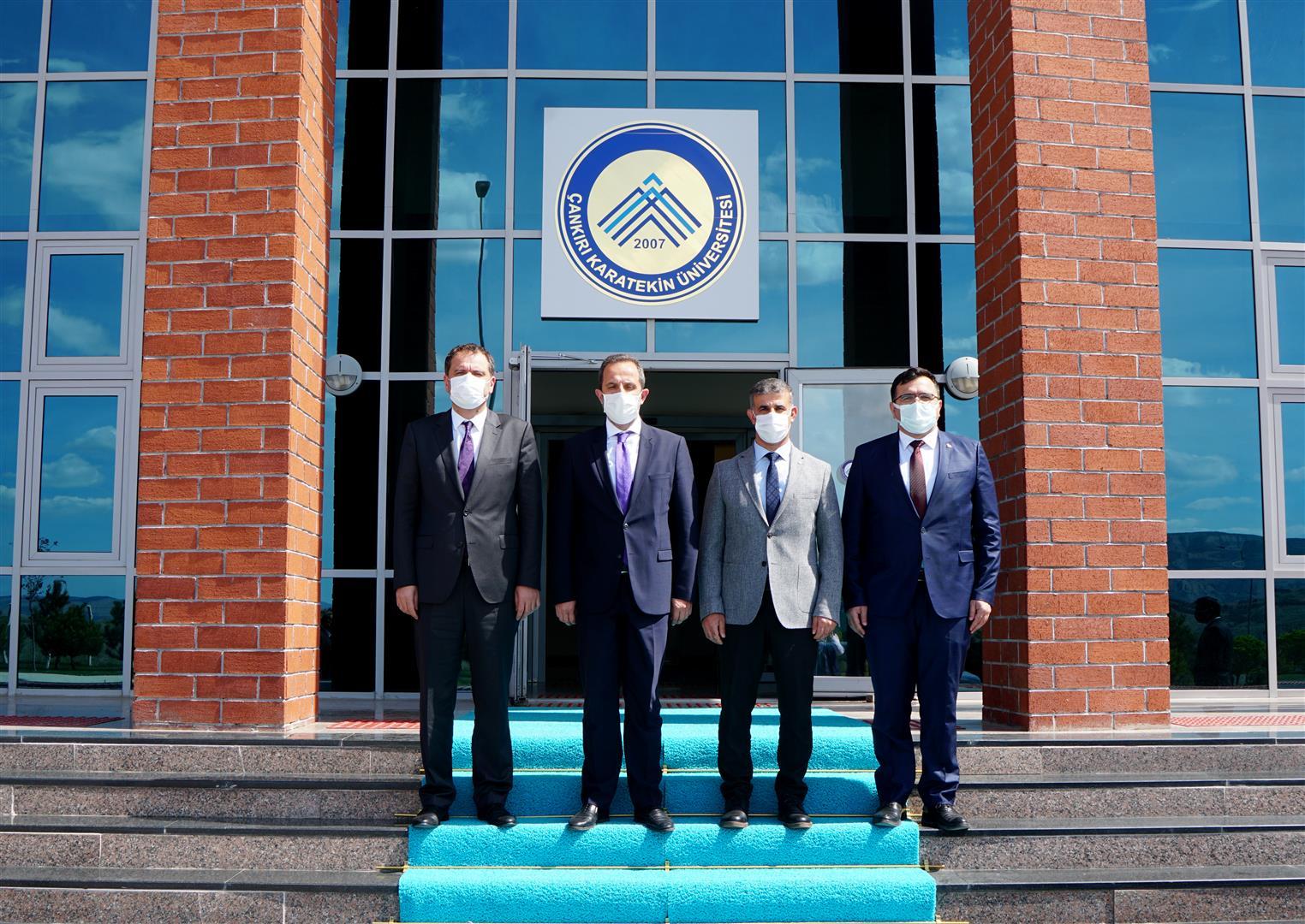 Milletvekili Çivitcioğlu Rektör Çiftçiı'yı Ziyaret Etti
