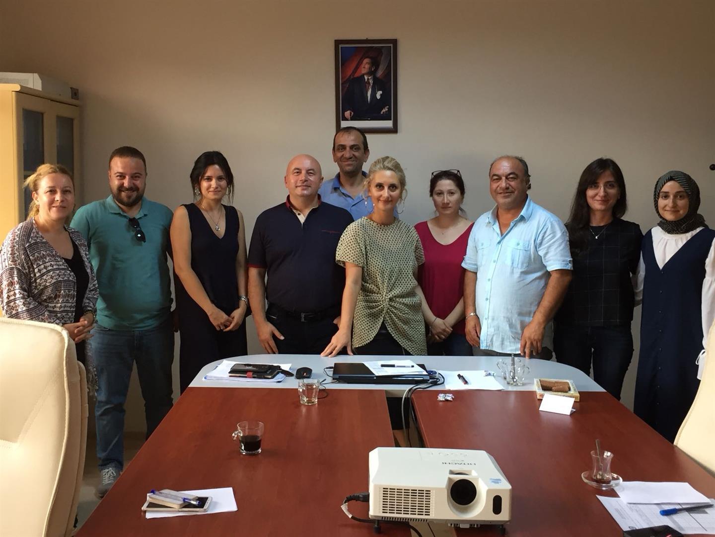 2018-2019 Güz Dönemi Yabancı Diller Bölümü Toplantısı Yapıldı.